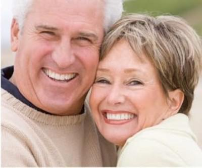 Elderly Couple Headshot