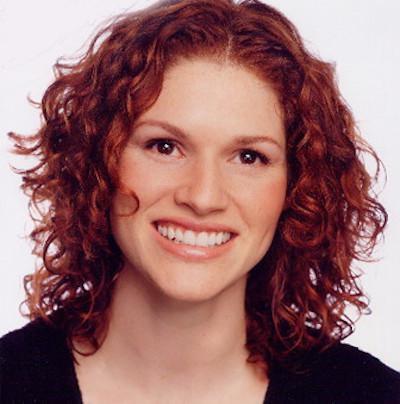 Red-Headed Female Model