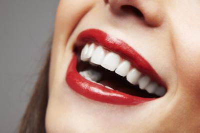 Smile with Red Lipstick