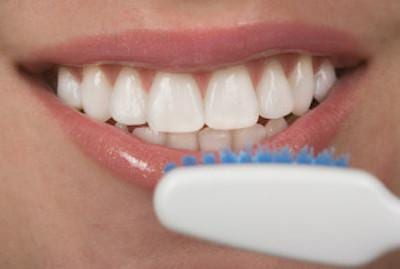 Smile with Toothbrush