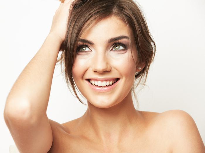 Young Female Model Headshot